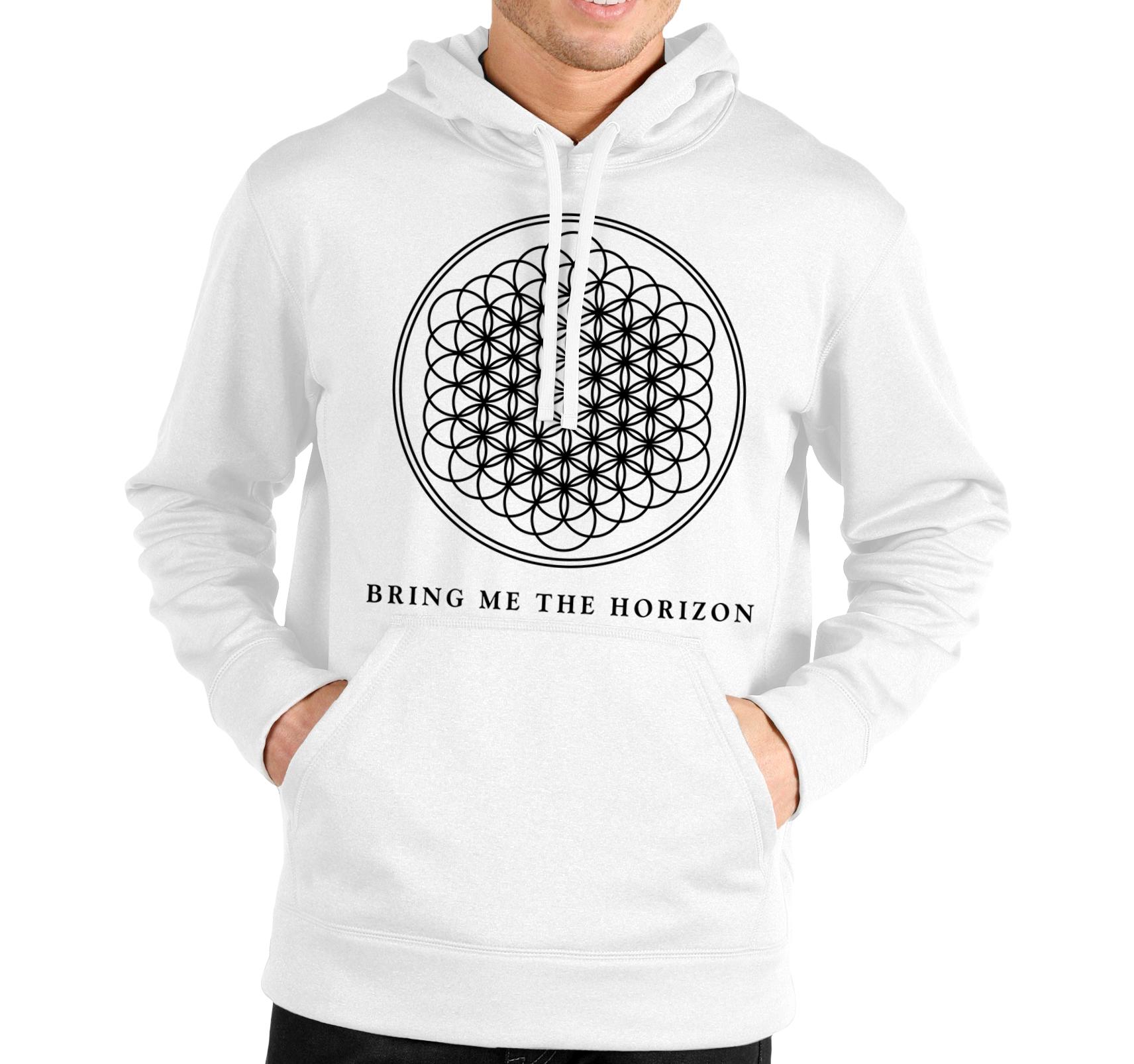 Pánska Mikina Bring Me the Horizon Logo Veľkosť: M, Pohlavie: Čierna
