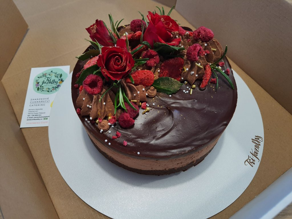 Pařížský dort malý