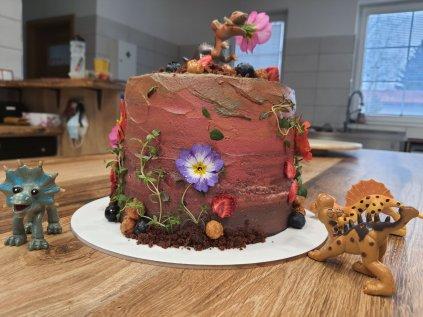Jednopatrový dort průměr 16 cm nízký