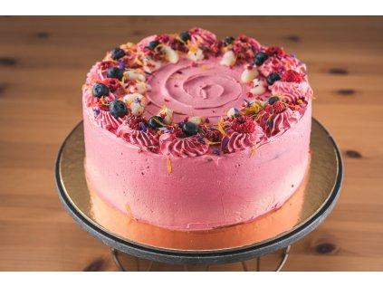 Čokoládový dort s pařížským krémem