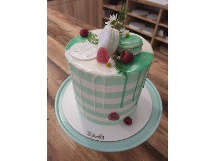 Jednopatrový dort průměr 16 cm vysoký