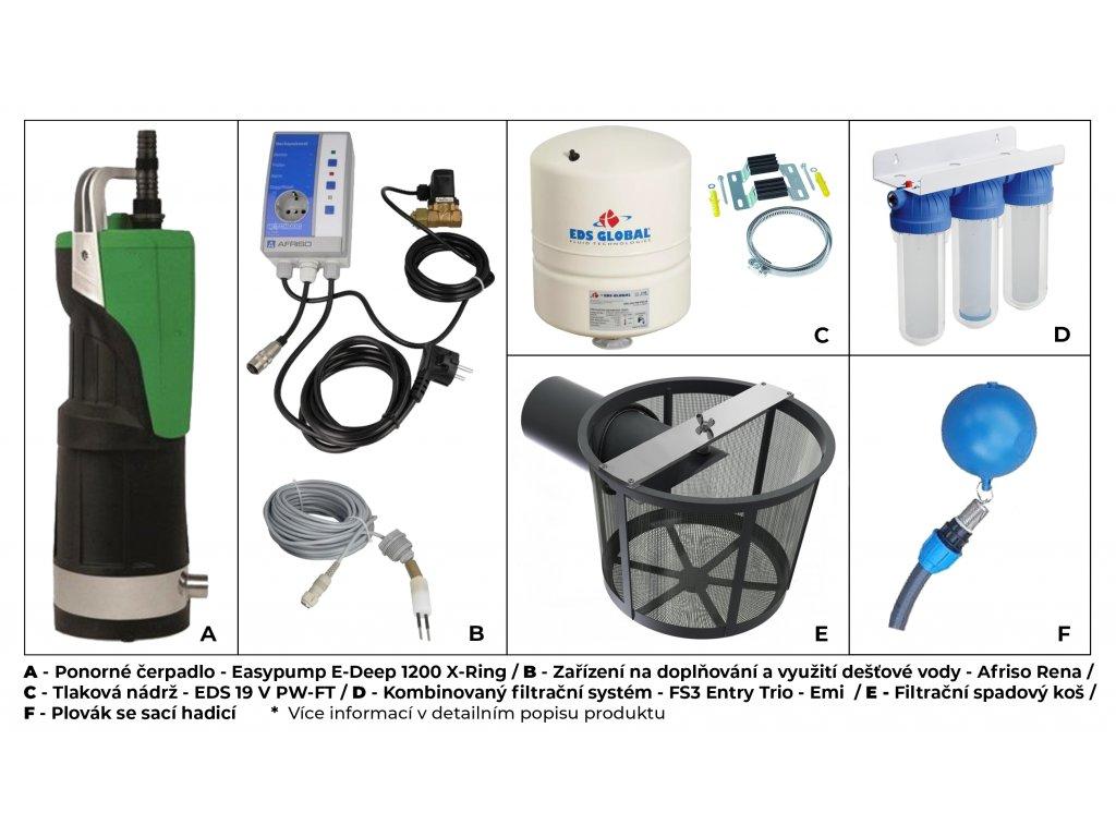 Sada komfort vše plně automatizované pro nádrže a řady Atlanta, Atlantis, Aqua, Clearo, Eco line, Globo line, Profi, RNSK, Smart