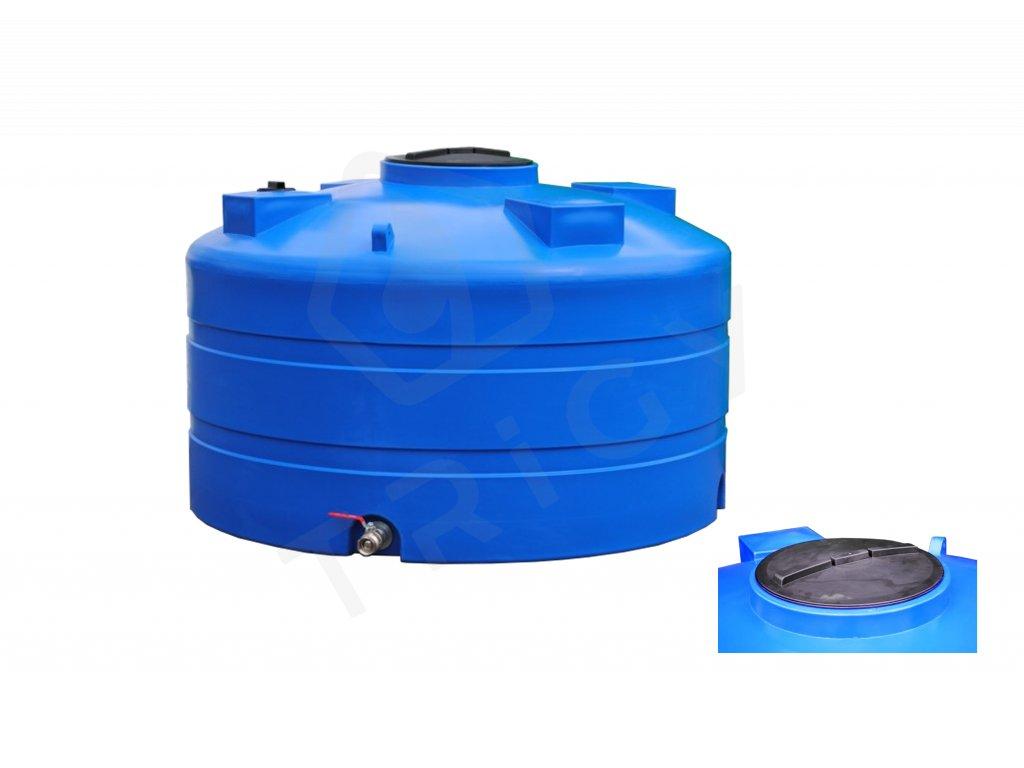 Nadzemní nádrž na dešťovou vodu DC 5000 l