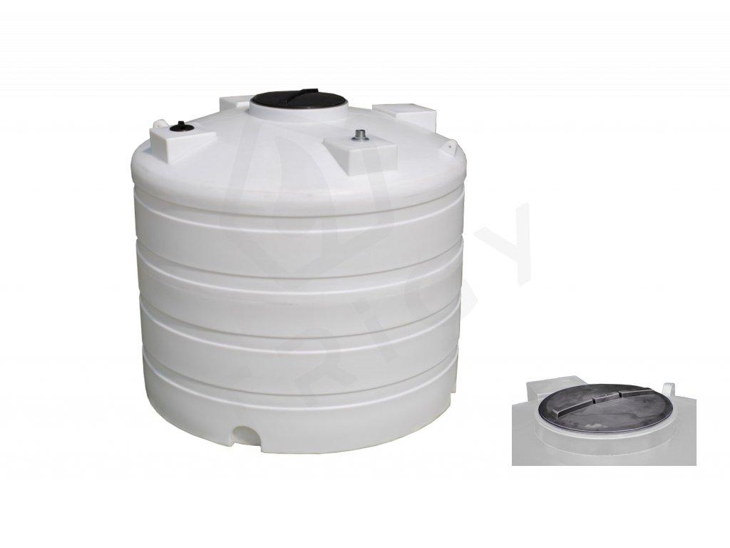 Nadzemní nádrž na dešťovou vodu DC 7000 l