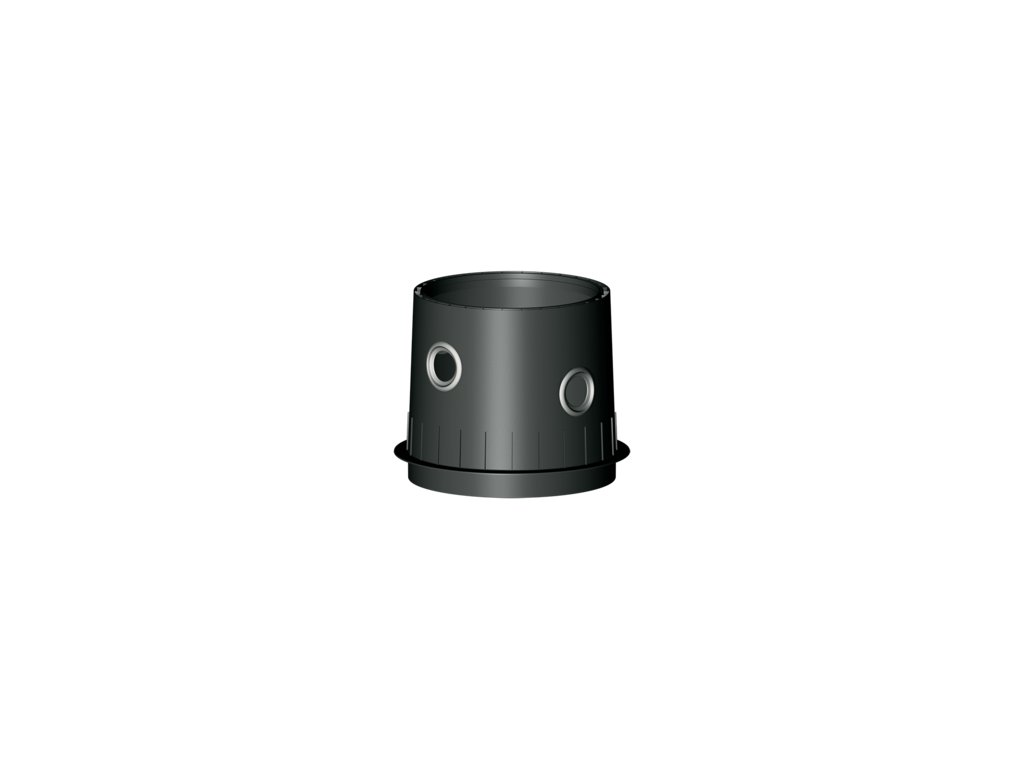 Plastová retenční akumulační nádrž na dešťovou vodu Columbus XL 10 000 L