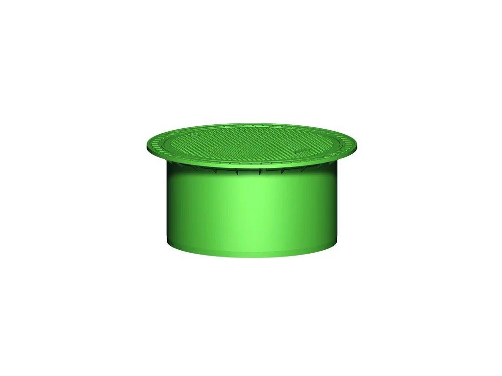 Plastová retenční akumulační nádrž na dešťovou vodu Columbus XXL 16 000 L
