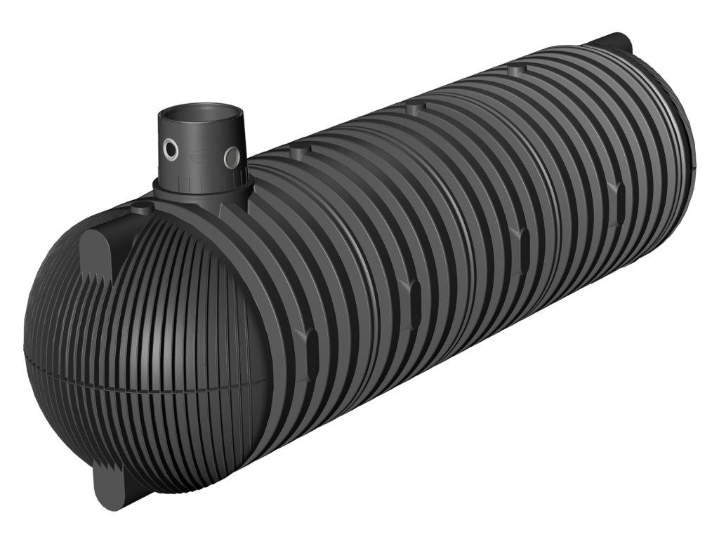 Plastová retenční akumulační nádrž na dešťovou vodu Columbus XXL 26 000 L