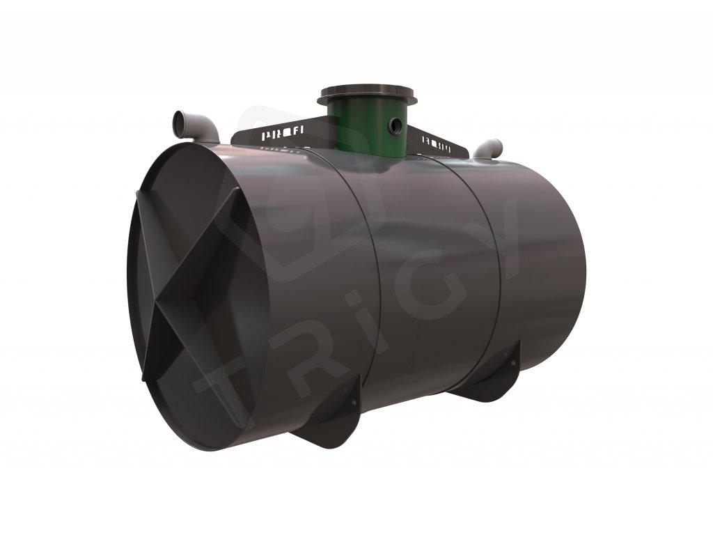 Plastová retenční akumulační nádrž na dešťovou vodu Profi 8000 L