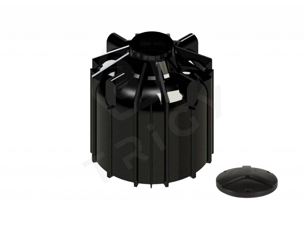 Plastová retenční akumulační nádrž na dešťovou vodu Globo line 8300 L
