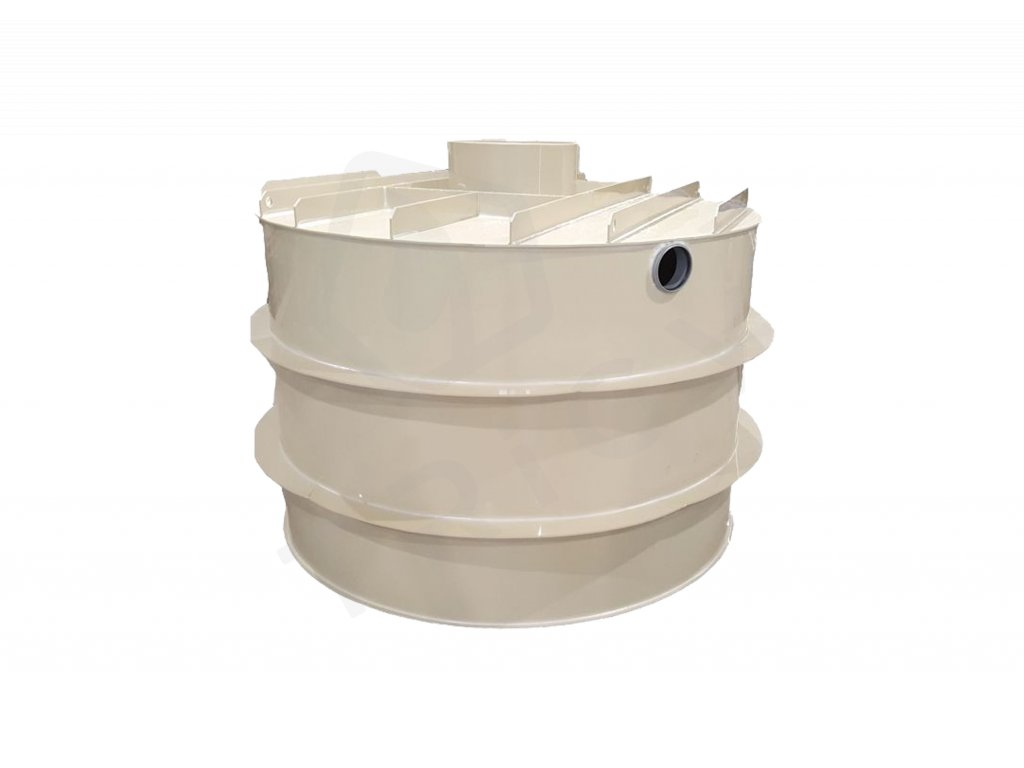 Plastová retenční akumulační nádrž na dešťovou vodu RNSK 1000 L