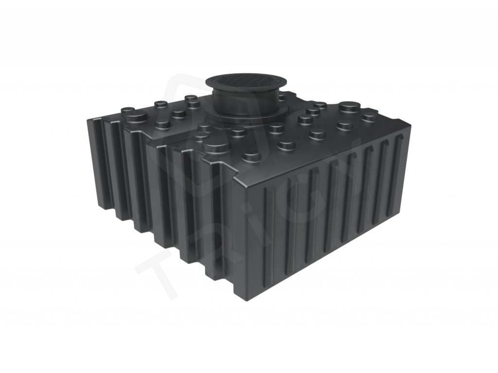 Plastová retenční akumulační nádrž na dešťovou vodu Aqua 5000 L