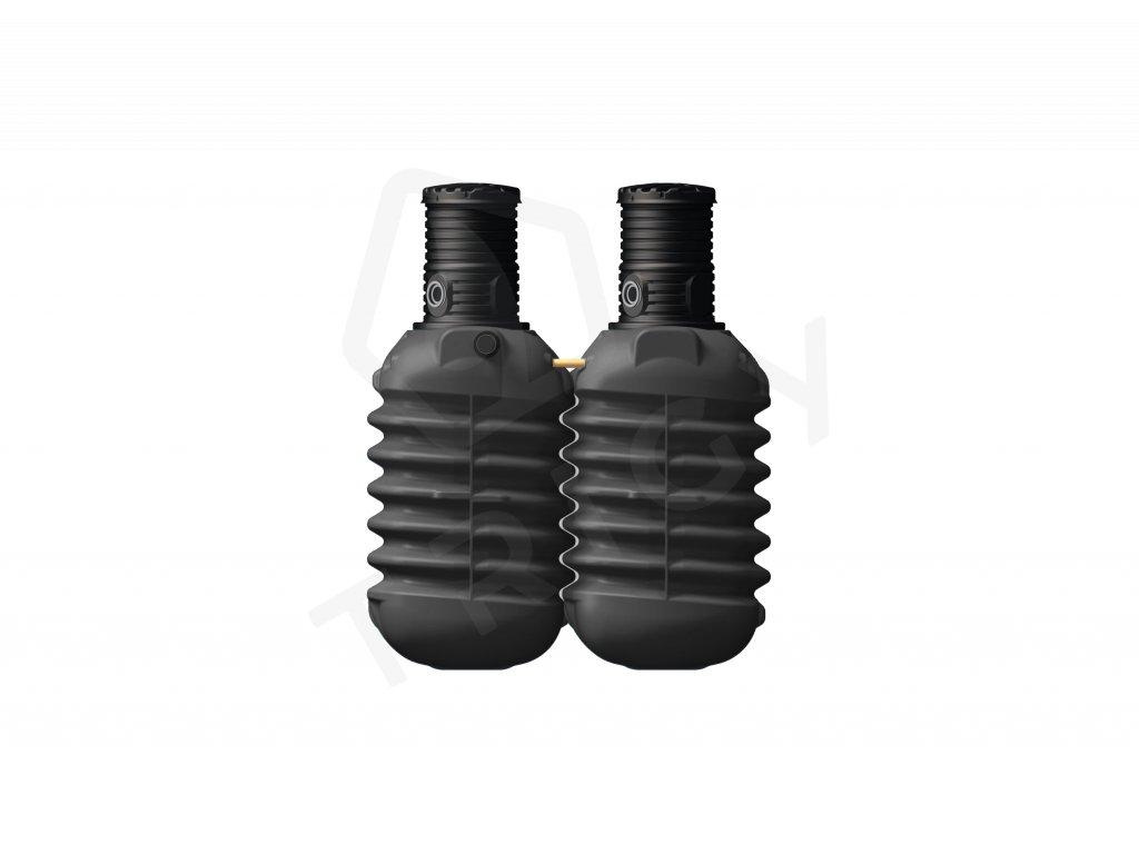 Plastová retenční akumulační nádrž na dešťovou vodu Modularis 5000 L