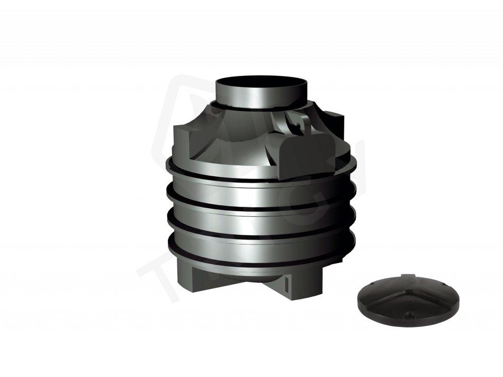 Plastová retenční akumulační nádrž na dešťovou vodu Clearo 1000 L