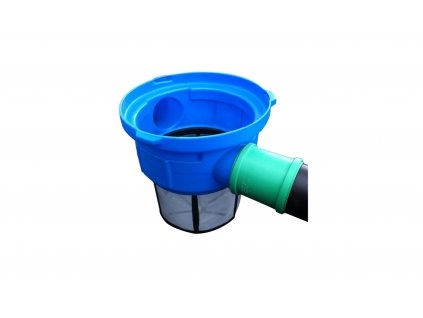 Filtrační koš do akumulační nádrže připevnění na přítokovou rouru IV