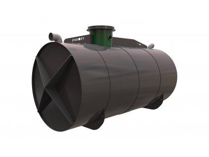 Plastová retenční akumulační nádrž na dešťovou vodu Profi 11000 L