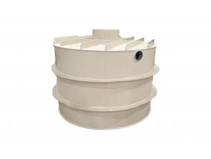 Plastová retenční akumulační nádrž na dešťovou vodu RNSK 12000 L