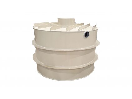 Plastová retenční akumulační nádrž na dešťovou vodu RNSK 18000 L