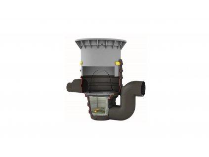 Podzemní filtrační šachta s vyjímatelným košíkem DN 400 Graf Drainstar
