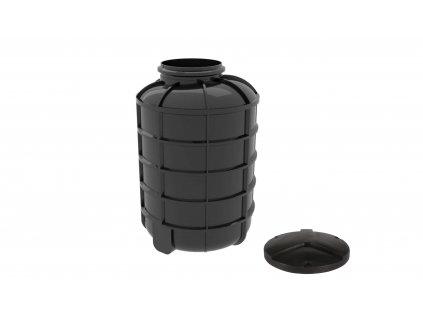 Plastová retenční akumulační nádrž na dešťovou vodu Smart 2000 L