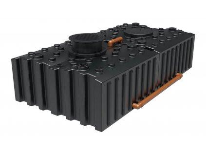 Plastová retenční akumulační nádrž na dešťovou vodu Aqua 10000 L