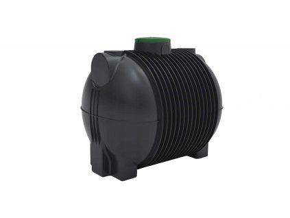 Plastová retenční akumulační nádrž na dešťovou vodu Atlanta 10000 L