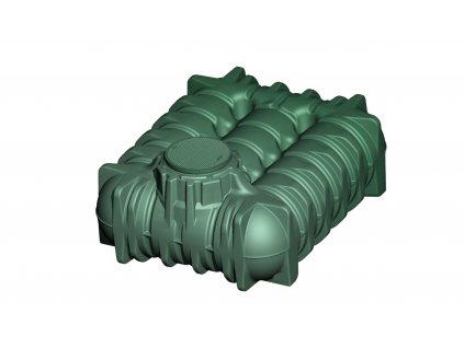 Plastová retenční akumulační nádrž na dešťovou vodu Li Lo 5000 L