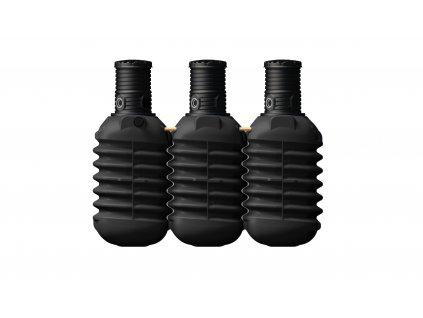Plastová retenční akumulační nádrž na dešťovou vodu Modularis 7500 L