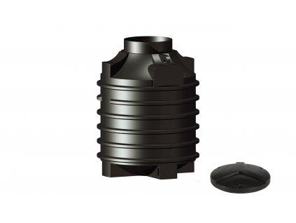 Plastová retenční akumulační nádrž na dešťovou vodu Clearo 1500 L