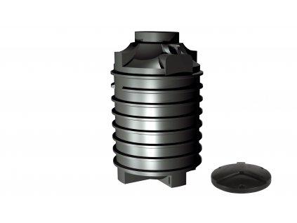 Plastová retenční akumulační nádrž na dešťovou vodu Clearo 2000 L