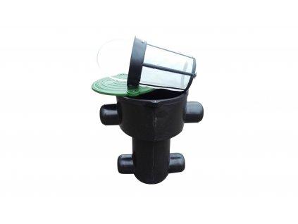 Sada plastové retenční akumulační nádrže na dešťovou vodu Smart 5000 LPlastová retenční akumulační nádrž na dešťovou vodu Smart 5 000 L