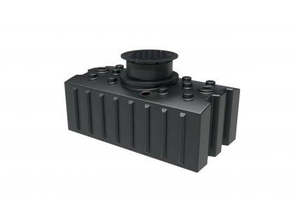 Plastová retenční akumulační nádrž na dešťovou vodu Aqua 2000 L