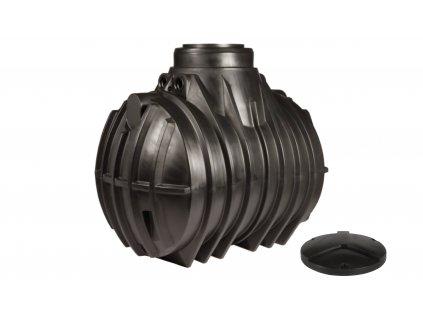 Plastová retenční akumulační nádrž na dešťovou vodu Atlantis 4000 L