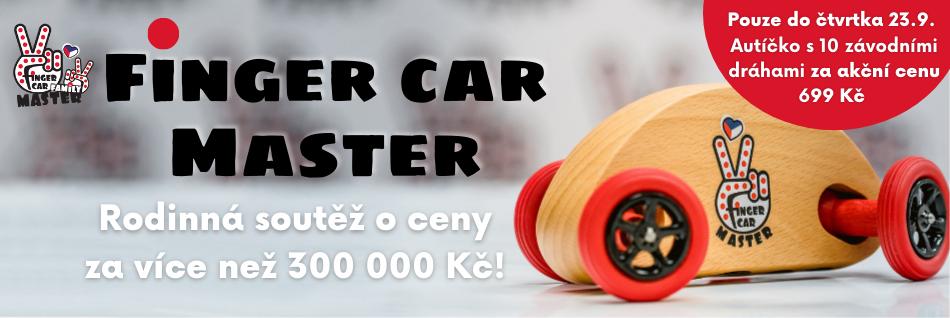 FIngercar Master rodinná soutěž - akce