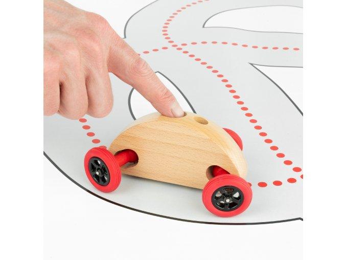 04 Fingercar Natur Finger Fahrbahn