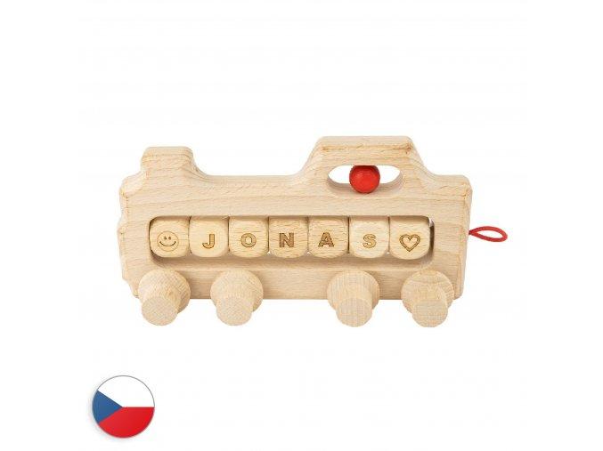 trihorse lokomotiva se jmenem 01