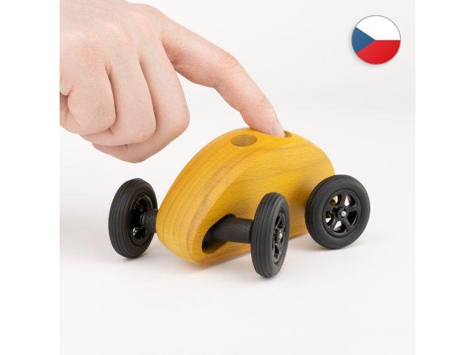 fingercar auticko zlute