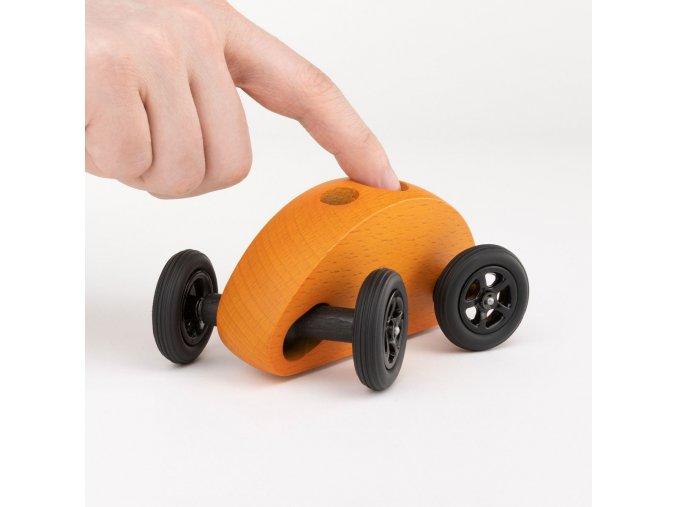 01 fingercar orange titelbild