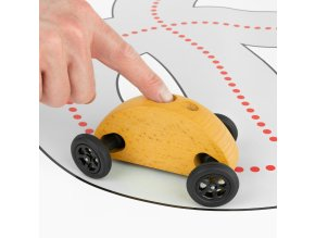 04 Fingercar Gelb Finger Fahrbahn