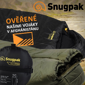 SNUGPAK - kvalitní Outdoor a Camping vybavení