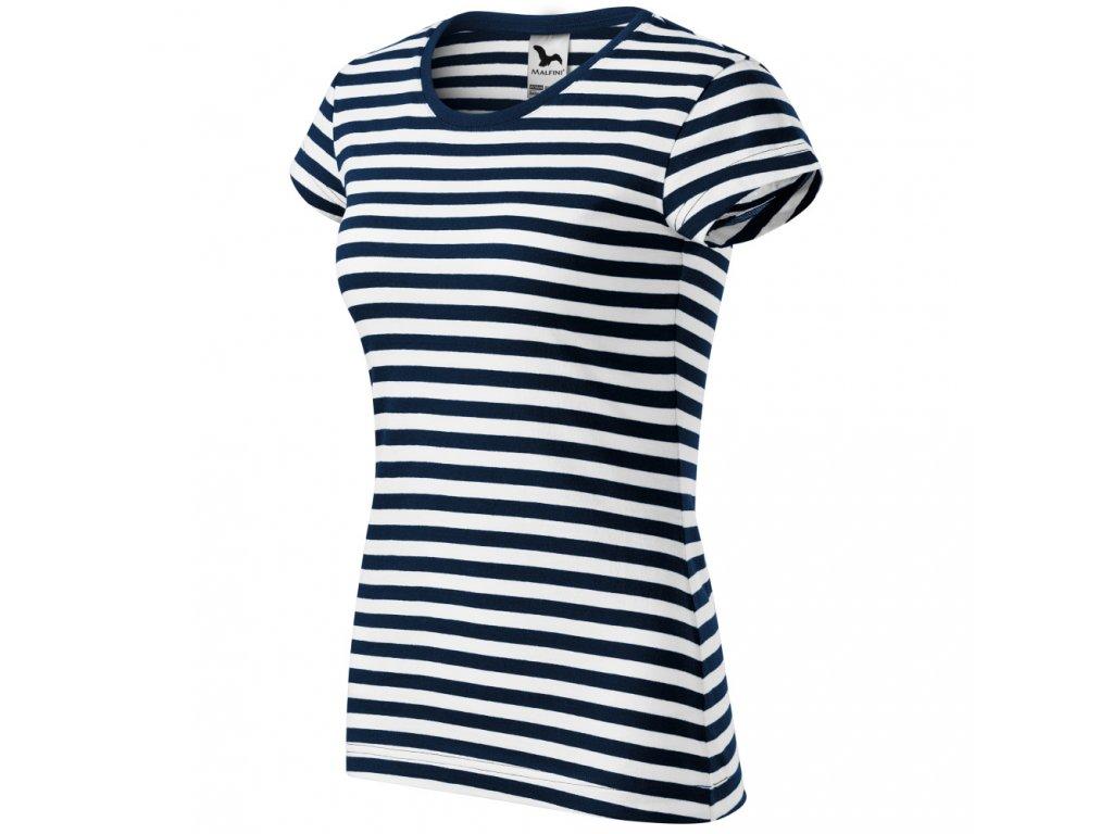 Dámské tričko na vodu pruhované sailor pro vodáka 1