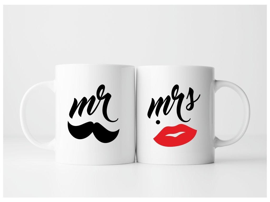 Sada hrnečků pro páry MR a MRS 01