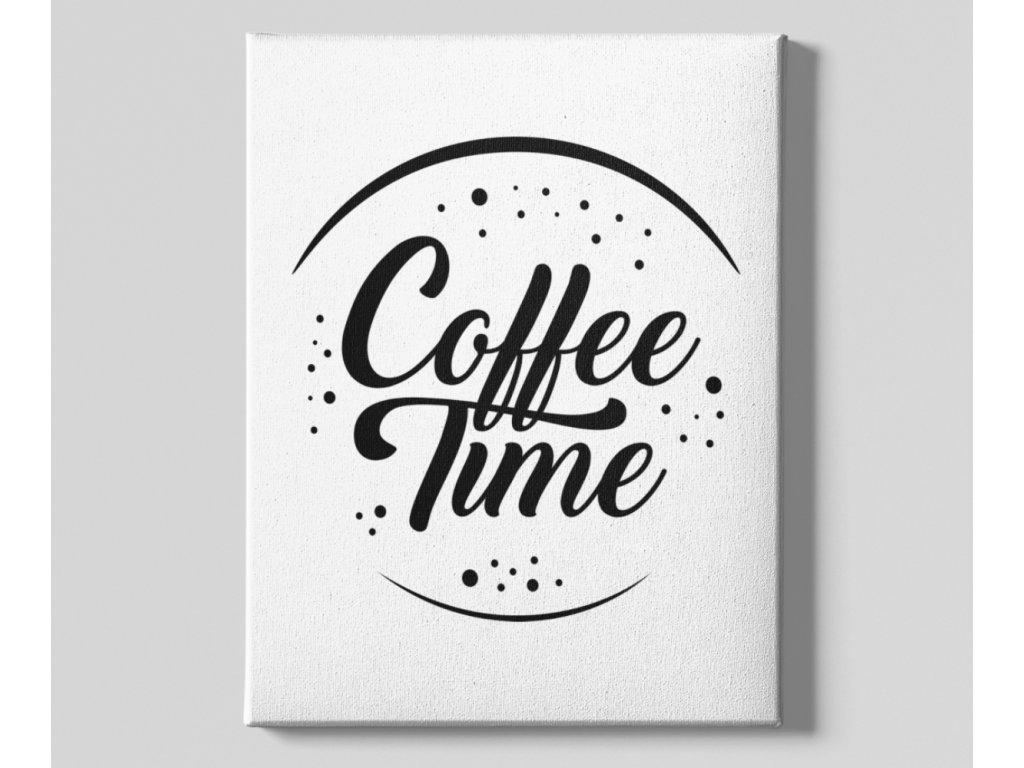 Dekorační obrázek na plátně Coffee Time top