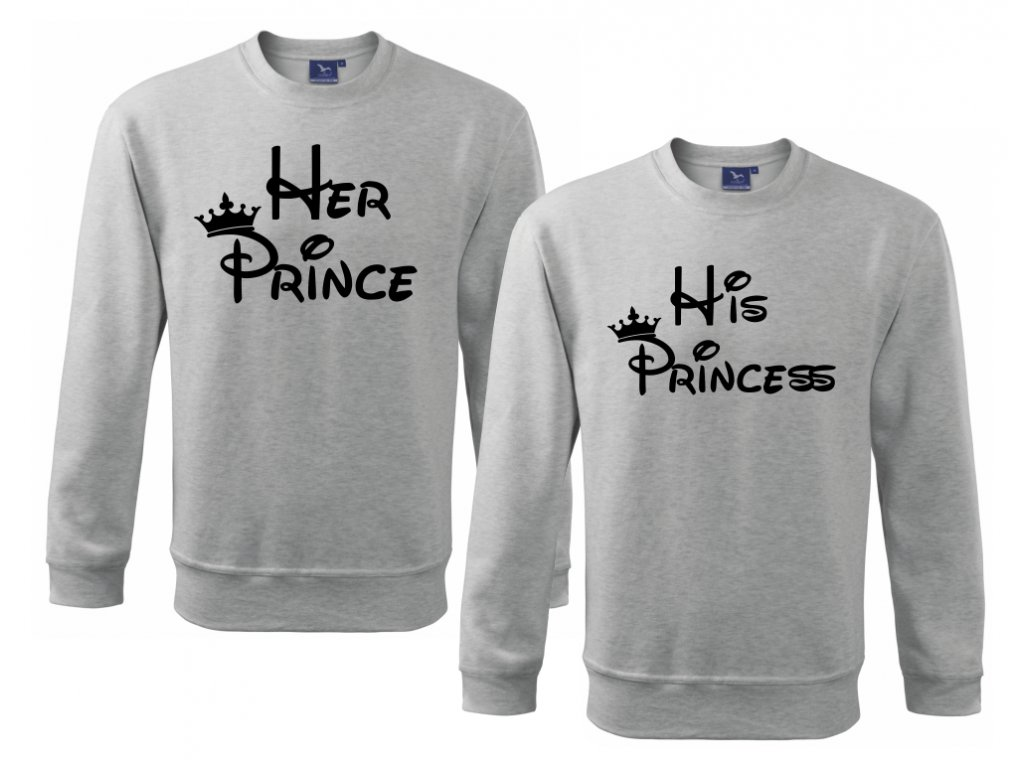 Sada mikin Prince a Princess Šedá A