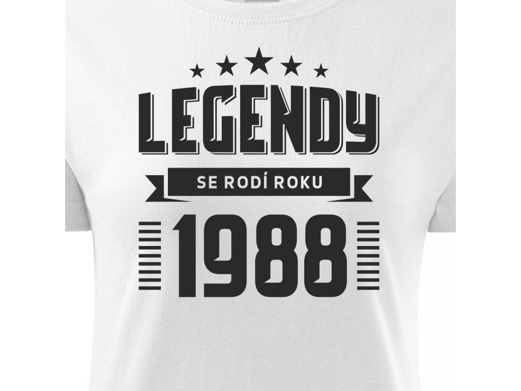587ab6e0f283 ... Dámské tričko k narozeninám zrození legendy ročník bílé 3