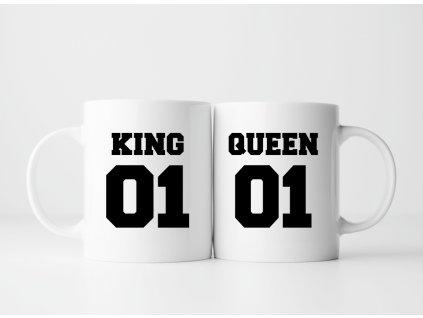 Sada Hrnečků pro páry King a Queen 02