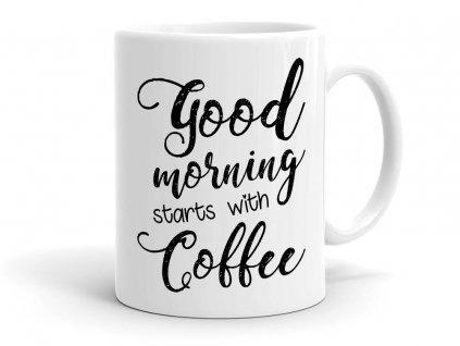 Hrnek Morning Cofee