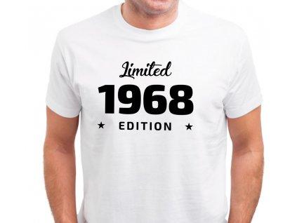Pánské tričko Limited Edition ROČNÍK k narozeninám rok narození bílé