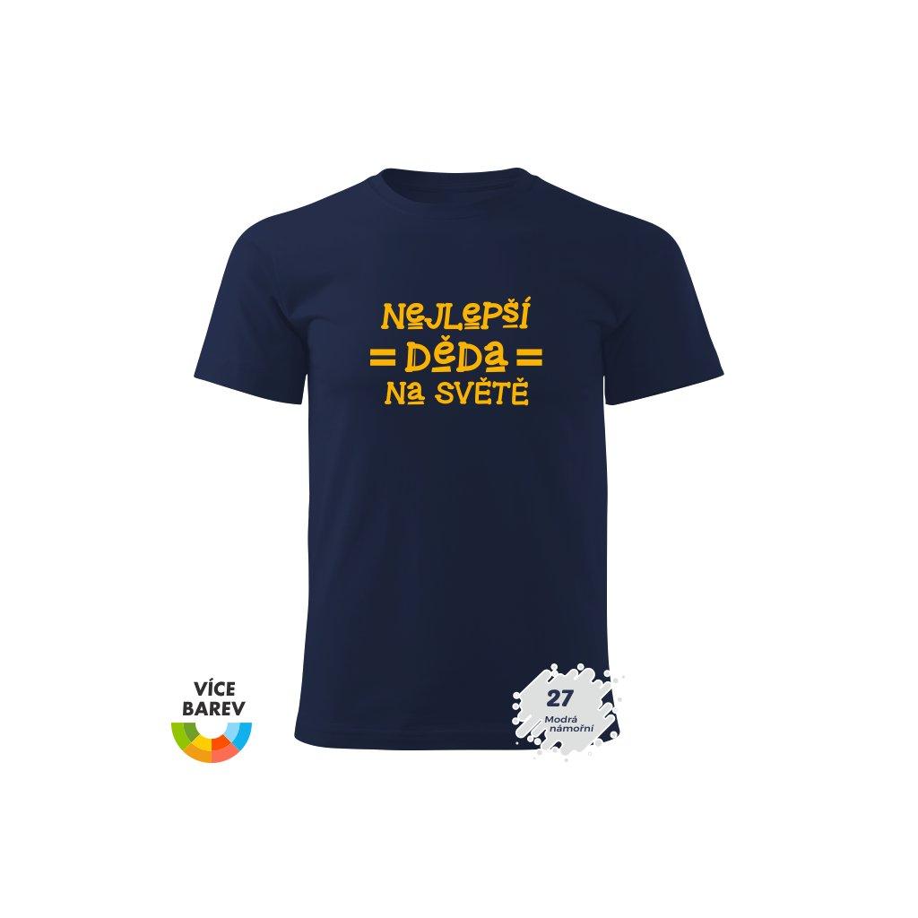 Pánské tričko - Nejlepší dědeček na světě