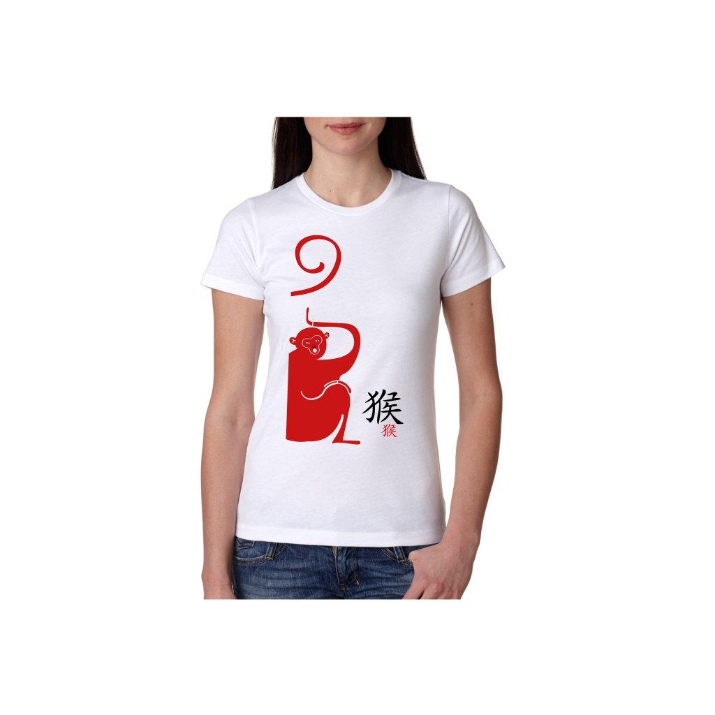 Dámské tričko - Opice - čínský horoskop