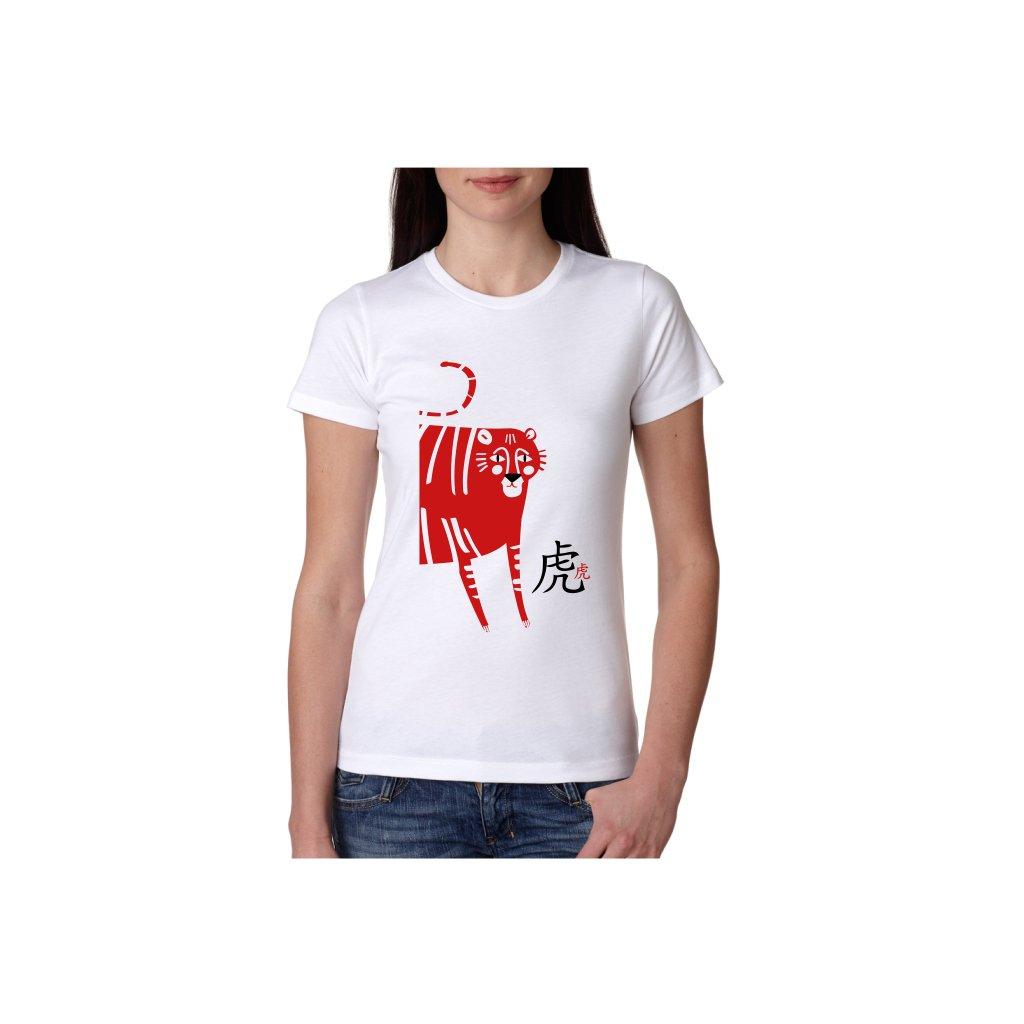 Dámské tričko - Tygr - čínský horoskop
